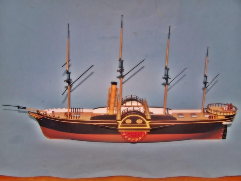 SS Great Western,airfix.escalA 1/180 100_8725