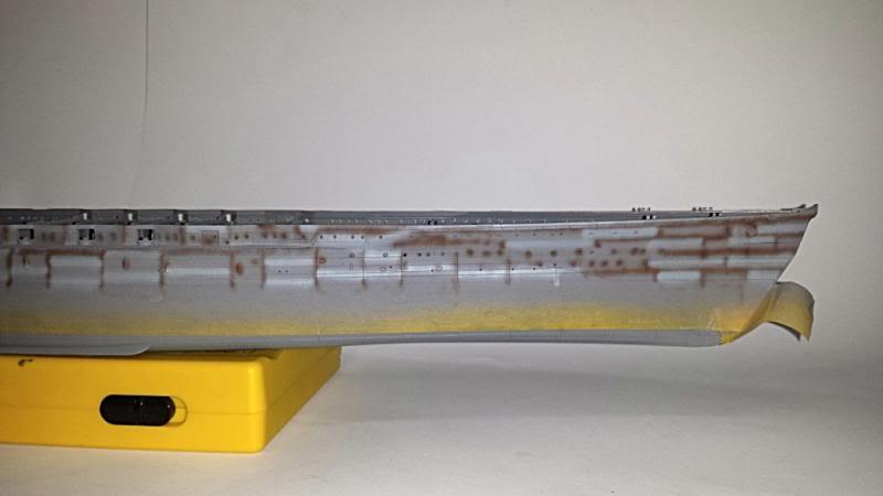 IJN NAGATO 1/350 HASEGAWA CON FG,S LION ROAR.avances 1-09-13 20131104_203031