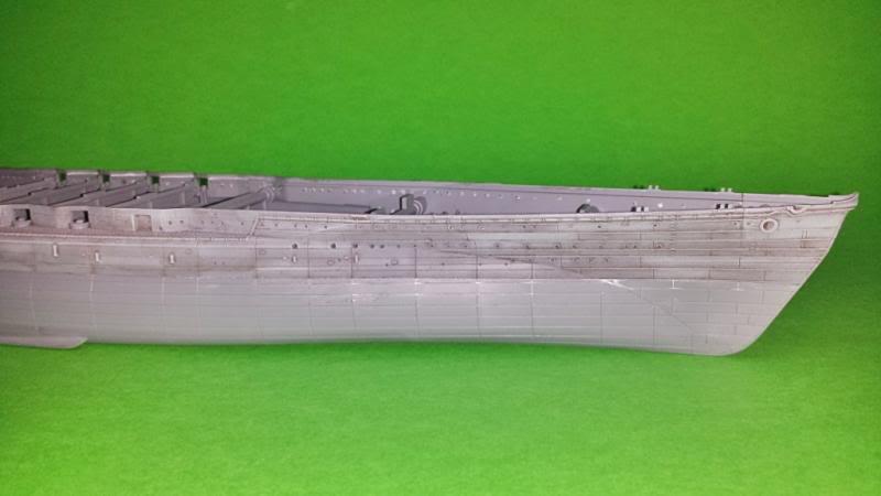 IJN NAGATO 1/350 HASEGAWA CON FG,S LION ROAR.avances 1-09-13 20131105_021511