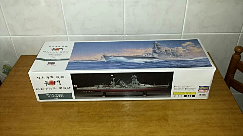 IJN NAGATO 1/350 HASEGAWA CON FG,S LION ROAR.avances 1-09-13 IMG-20130826-WA0002
