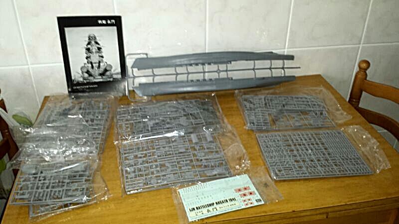 IJN NAGATO 1/350 HASEGAWA CON FG,S LION ROAR.avances 1-09-13 IMG-20130826-WA0004