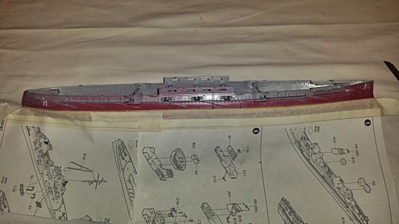 IJN Mikasa hasegawa 1/350 20131008_140335