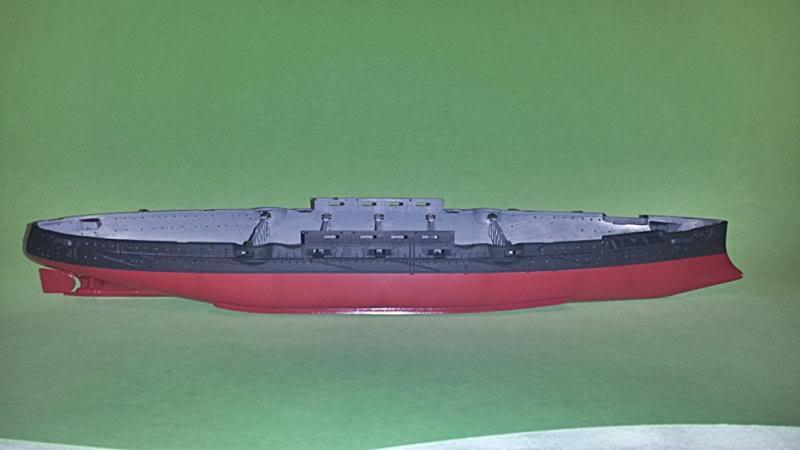 IJN Mikasa hasegawa 1/350 20131008_143035