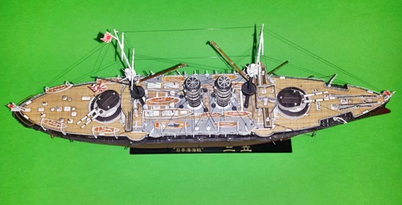 IJN Mikasa hasegawa 1/350 20131103_185024