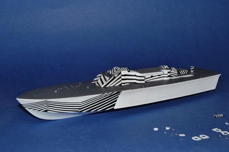 Torpedera PT-167 revell 1/72 con razzle dazzle DSC_0004-3