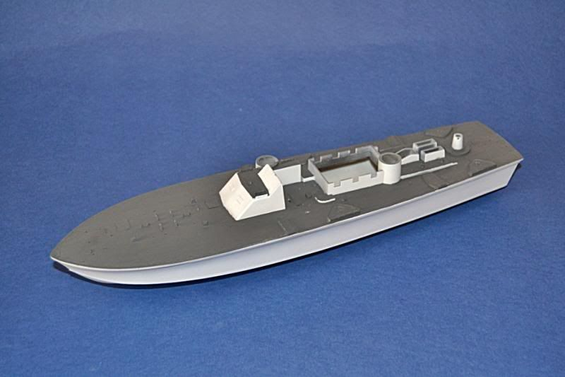 Torpedera PT-167 revell 1/72 con razzle dazzle DSC_0023