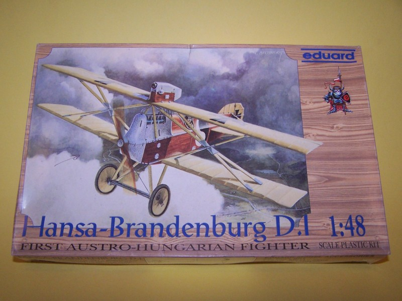 HANSA BRANDERBURG D-1 EDUARD 1/48 100_0021