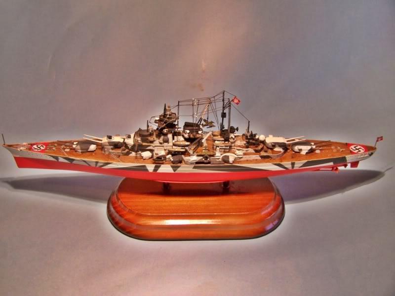 Acorazado tirpitz trumpeter 1/700 100_4875