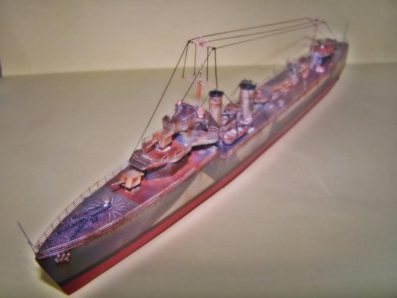 HMS VEGA ARMADA SCALE MODELS 1/350 100_7555
