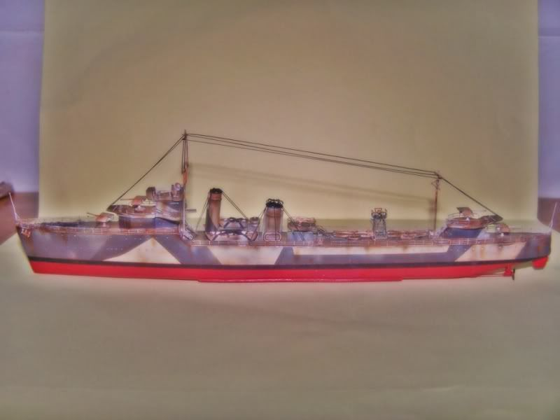 HMS VEGA ARMADA SCALE MODELS 1/350 100_7556