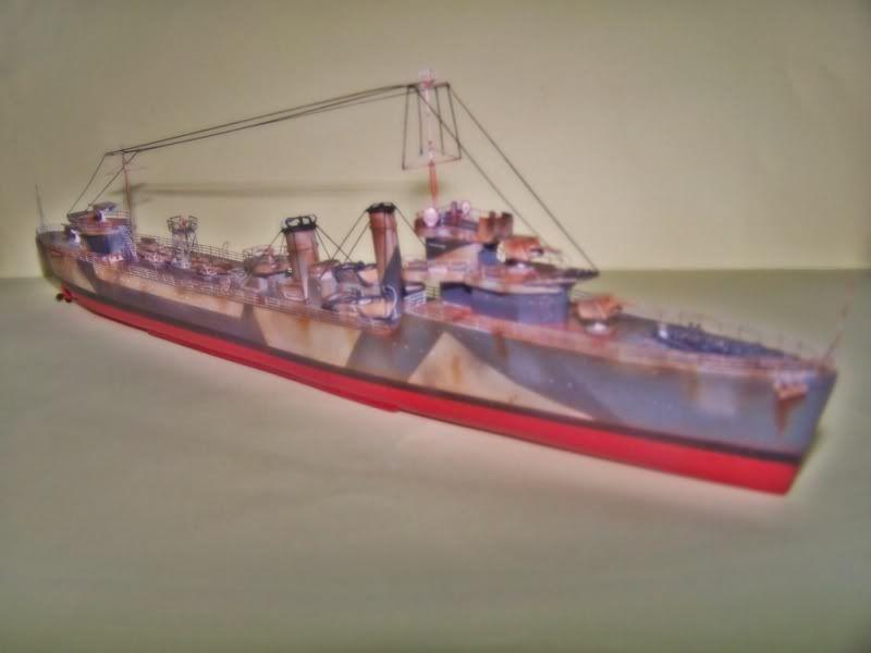 HMS VEGA ARMADA SCALE MODELS 1/350 100_7557