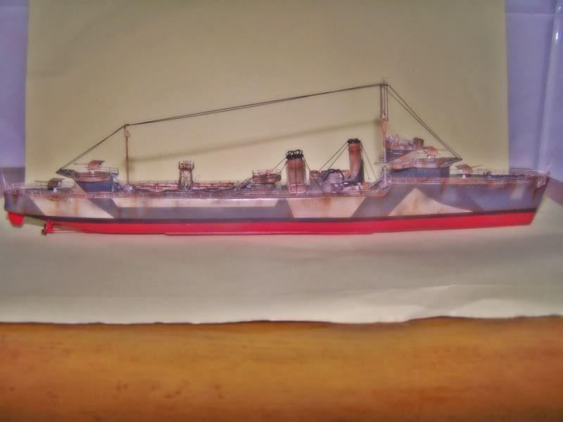 HMS VEGA ARMADA SCALE MODELS 1/350 100_7559