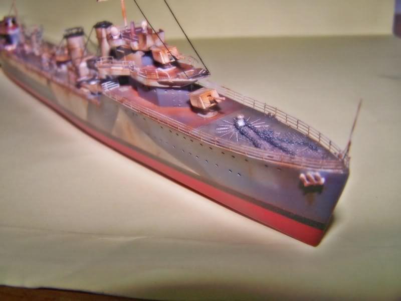 HMS VEGA ARMADA SCALE MODELS 1/350 100_7561