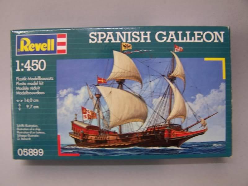 GALEON ESPAÑOL REVELL 1/450 100_9092