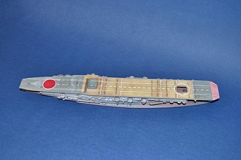 PORTAAVIONES  IJN KAGA HASEHAWA 1/700 DSC_0016