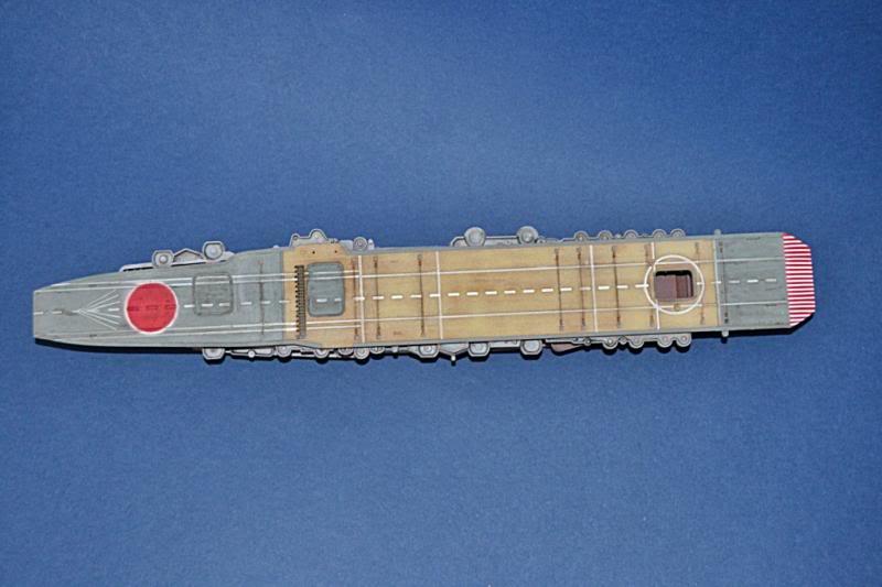 PORTAAVIONES  IJN KAGA HASEHAWA 1/700 DSC_0017
