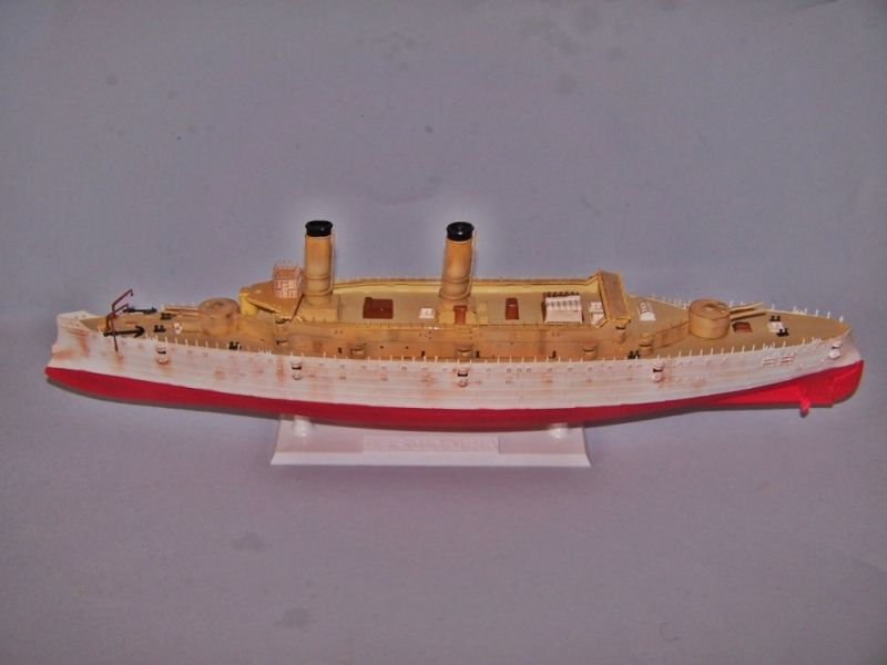 USS OLYMPIA   REVELL 1/232 100_9274