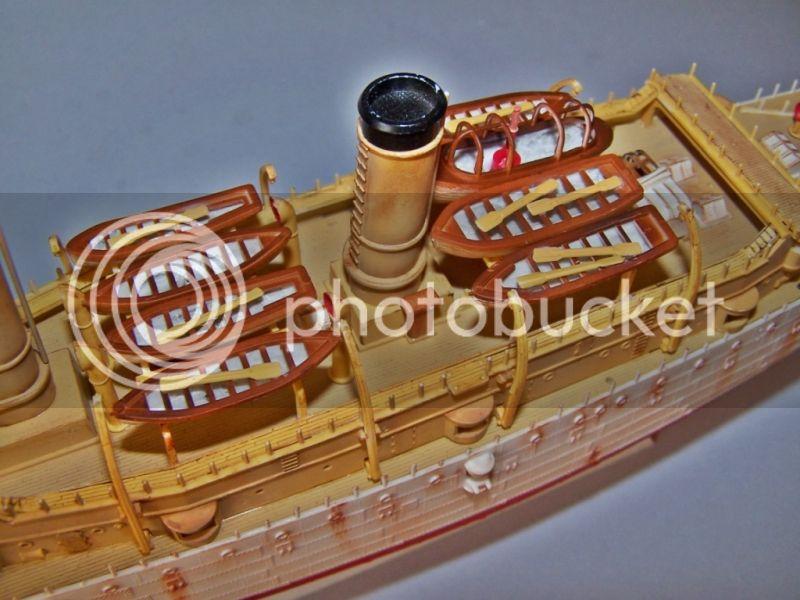 USS OLYMPIA   REVELL 1/232 100_9284