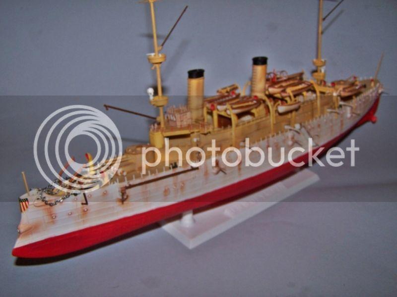 USS OLYMPIA   REVELL 1/232 100_9294
