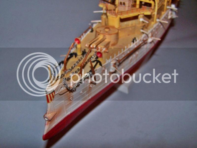 USS OLYMPIA   REVELL 1/232 100_9295