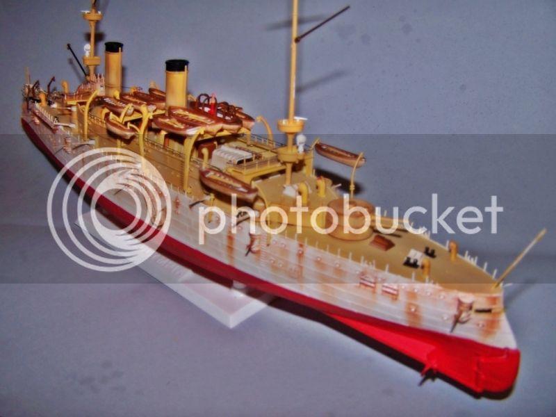 USS OLYMPIA   REVELL 1/232 100_9299