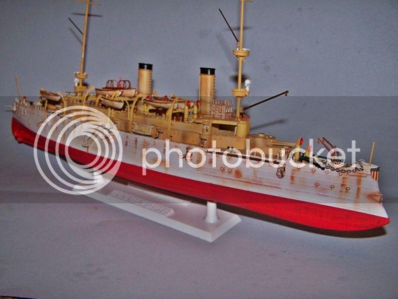 USS OLYMPIA   REVELL 1/232 100_9302