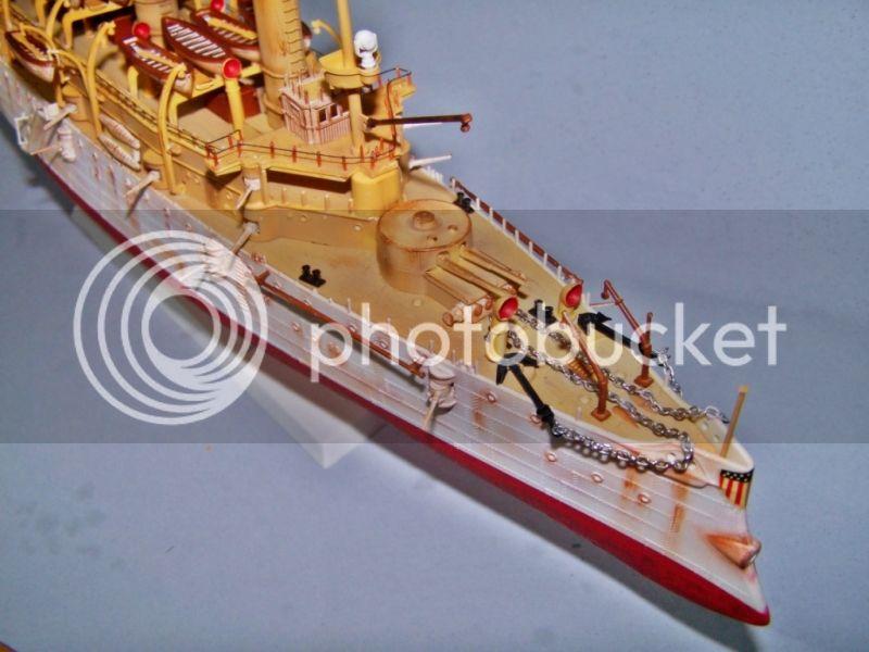 USS OLYMPIA   REVELL 1/232 100_9305