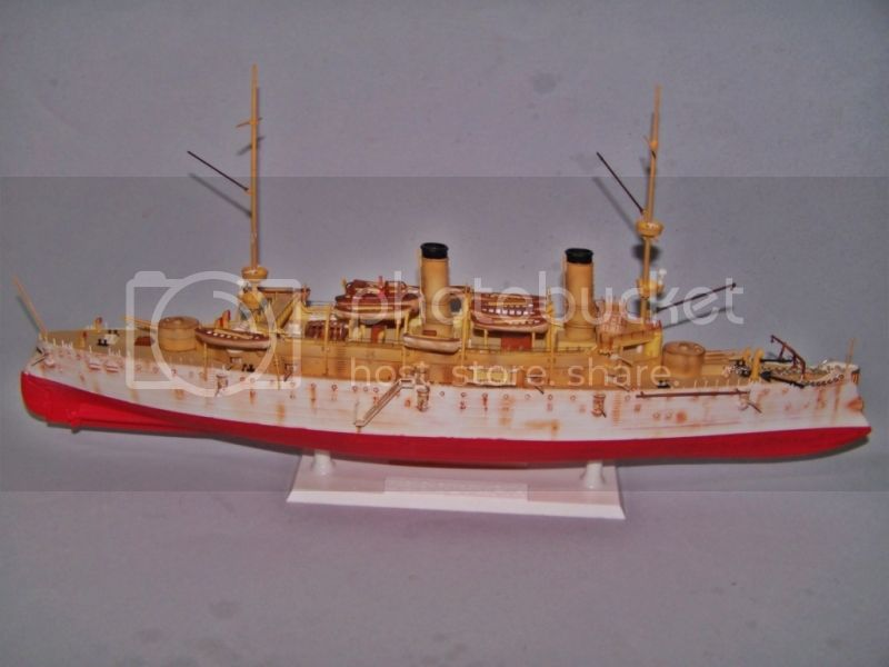USS OLYMPIA   REVELL 1/232 100_9306