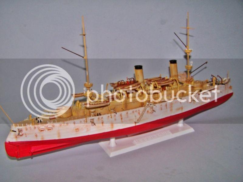 USS OLYMPIA   REVELL 1/232 100_9309