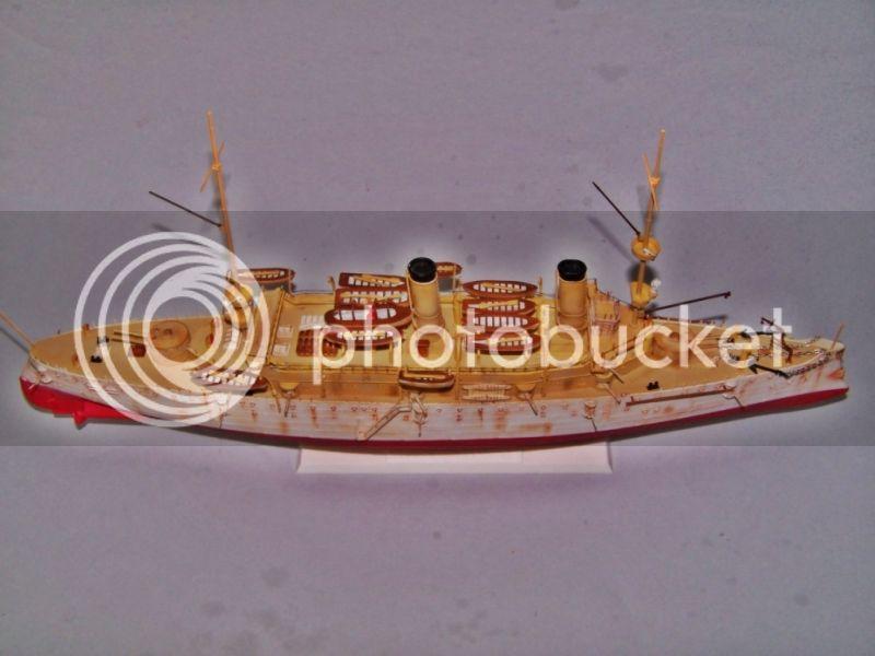 USS OLYMPIA   REVELL 1/232 100_9310
