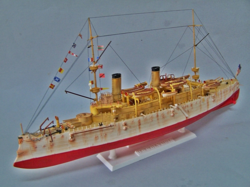 USS OLYMPIA   REVELL 1/232 100_9321
