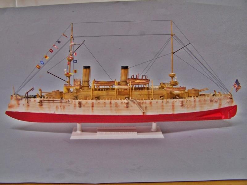 USS OLYMPIA   REVELL 1/232 100_9326