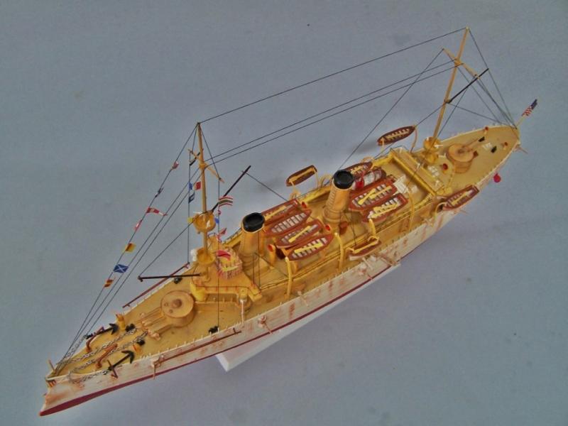 USS OLYMPIA   REVELL 1/232 100_9327
