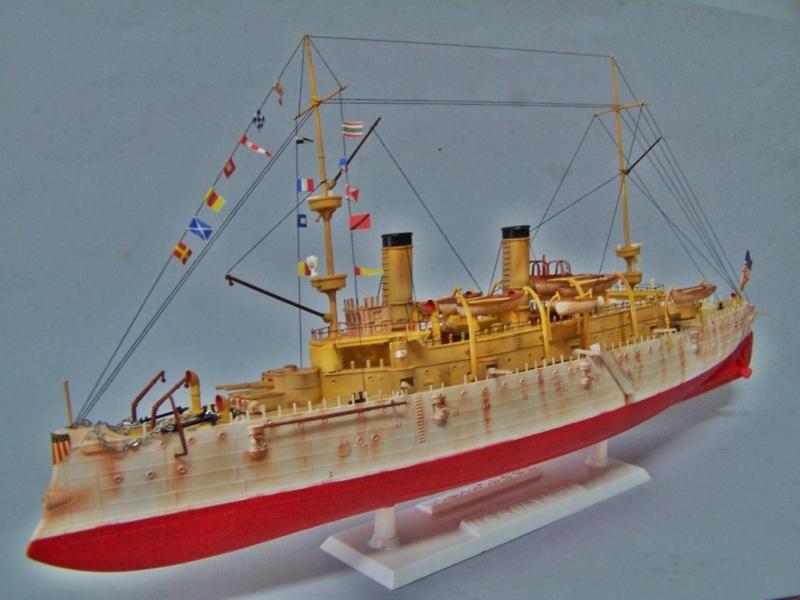USS OLYMPIA   REVELL 1/232 100_9329