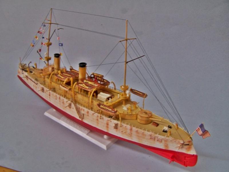 USS OLYMPIA   REVELL 1/232 100_9330