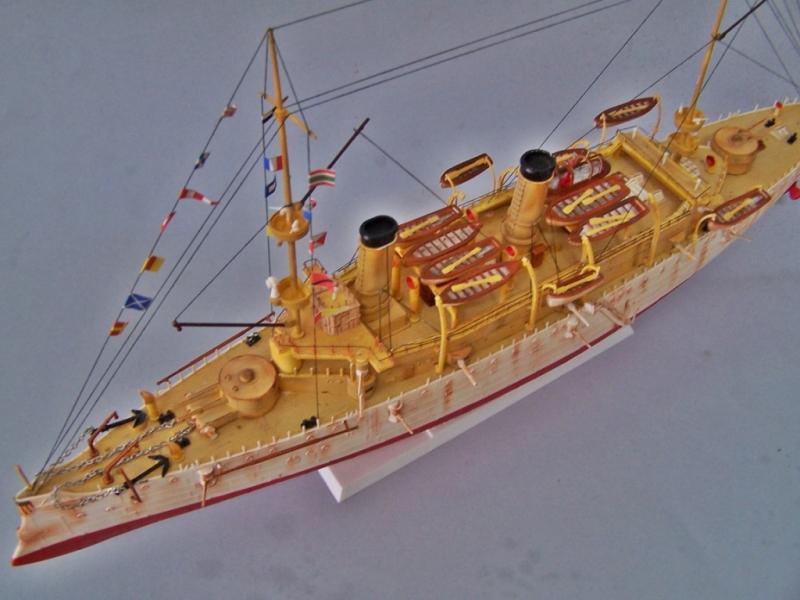 USS OLYMPIA   REVELL 1/232 100_9332