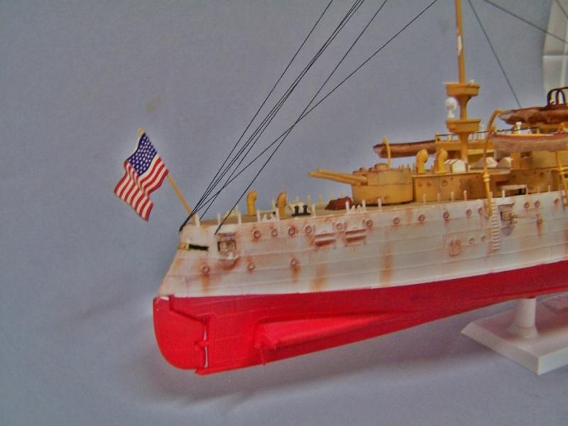 USS OLYMPIA   REVELL 1/232 100_9334