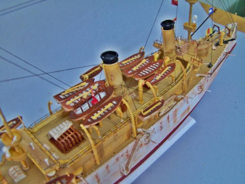 USS OLYMPIA   REVELL 1/232 100_9335