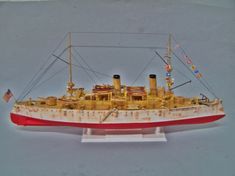USS OLYMPIA   REVELL 1/232 100_9336