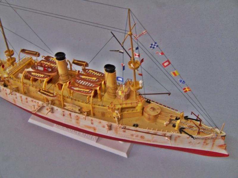 USS OLYMPIA   REVELL 1/232 100_9337