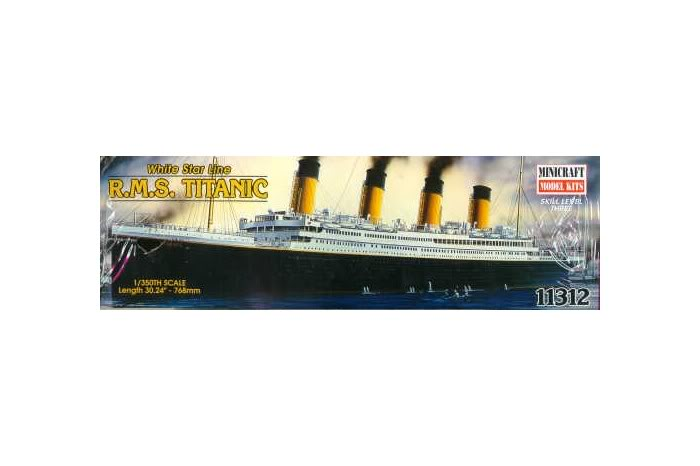 titanic revell 1/570   1350-rms-titanic-1350-minicraft-11312