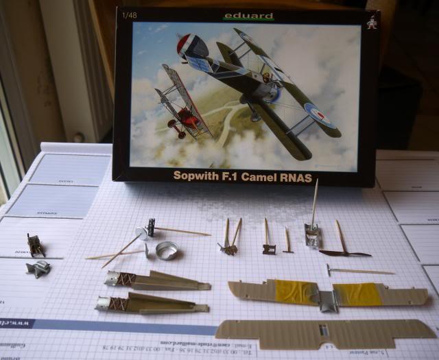diorama SOPWITH F.1 CAMEL RNAS 1/48- janvier 1918 dans le pas de calais P1010021