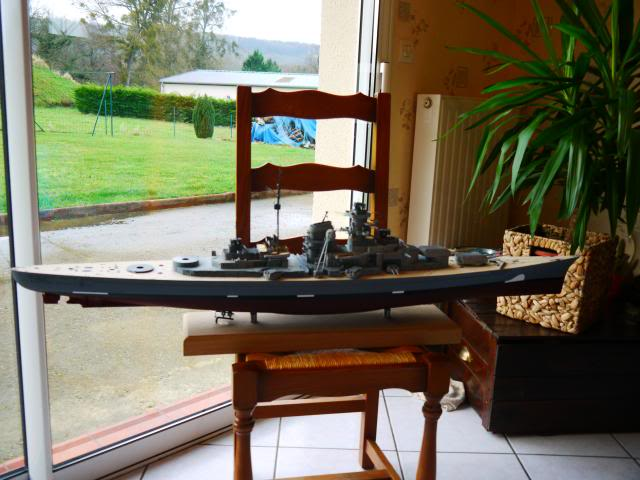 bismarck 1/200 the big maquette !! - Page 6 P1010638