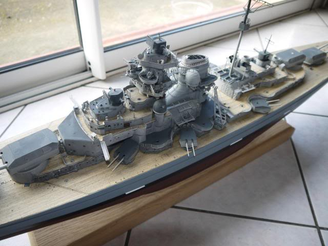 bismarck 1/200 the big maquette !! - Page 6 P1010700