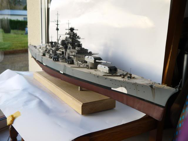 bismarck 1/200 the big maquette !! - Page 7 P1010866
