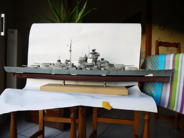 bismarck 1/200 the big maquette !! - Page 7 P1010868
