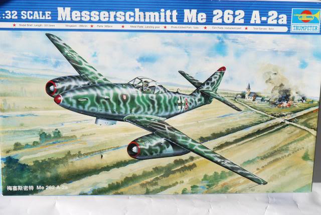 messerschmitt me 262 a- 2a-trumpeter au 1/32 P1020002