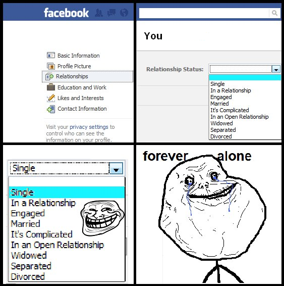 FAILS, For Ever Alone, FUck Yeah 1