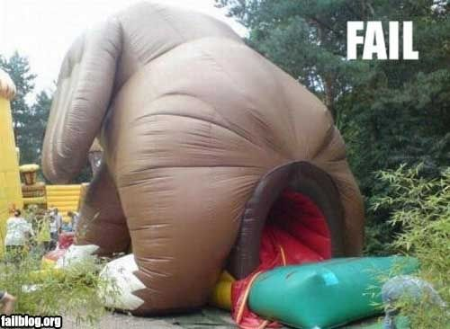 FAILS, For Ever Alone, FUck Yeah Fail-owned-bounce-house