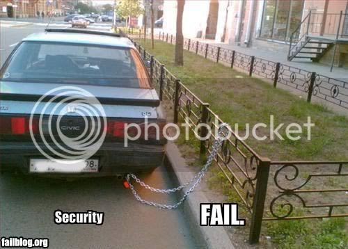 FAILS, For Ever Alone, FUck Yeah Fail-owned-security-chain-fail